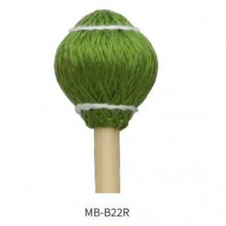 MIKE BALTER (マイク・バルター) プロヴァイブ・シリーズ:木綿巻 ラタン柄 キーボード・マレット<br>ミディアム・ハード MB-B22R (1ペア)