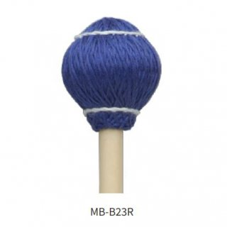 MIKE BALTER (マイク・バルター) プロヴァイブ・シリーズ:木綿巻 ラタン柄 キーボード・マレット<br>ミディアム MB-B23R (1ペア)