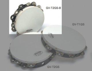GROVER (グローバー) プロジェクション・プラス・タンバリン GS:ジャーマン・シルバー 8インチ 2列ジングル GV-T2GS-8
