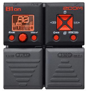 ZOOM (ズーム) ベースエフェクトペダル B1on