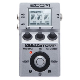 ZOOM (ズーム) MultiStomp ギター用マルチエフェクター MS-50G
