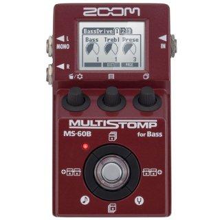 ZOOM (ズーム) MultiStomp ベース用マルチエフェクター MS-60B