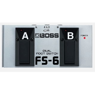 BOSS (ボス) デュアル・フット・スイッチ Dual Footswitch FS-6