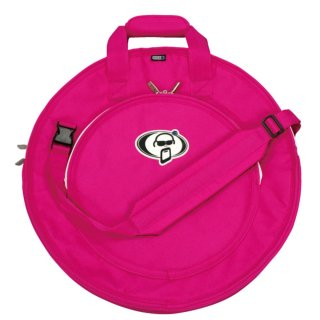 Protection Racket (プロテクションラケット) シンバルバッグ ショルダーストラップ ピンク 22インチ
