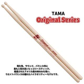 TAMA (タマ) ドラムスティック ヒッコリー 14.0mm x 406mm Original Series H214-B (1ペア) 【定形外郵便】【送料無料】