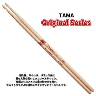 TAMA (タマ) ドラムスティック ヒッコリー 14.0mm x 406mm Original Series H214-P (1ペア) 【定形外郵便】【送料無料】
