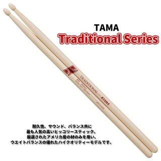 TAMA (タマ) ドラムスティック ヒッコリー 13.0mm x 390mm Traditional Series H7A (1ペア) 【定形外郵便】【送料無料】