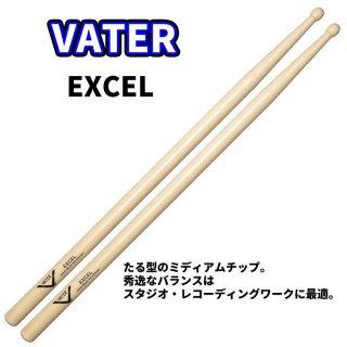 VATER  (ベーター) ヒッコリースティック Excel 14.6mm x 387mm  (1ペア) VHELW
