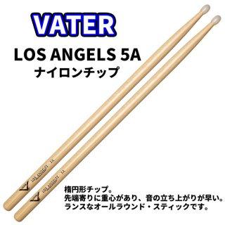 VATER  (ベーター) ヒッコリースティック ナイロンチップ仕様 LosAngels5A 14.5mm x 406mm  (1ペア) VH5AN