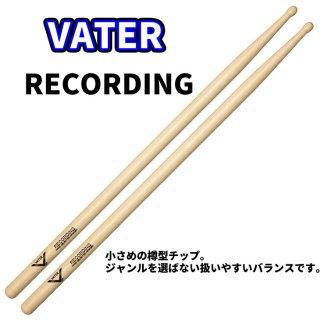 VATER  (ベーター) ヒッコリースティック Recording 14.2mm x 413mm  (1ペア) VHRECW