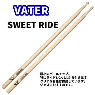 VATER  (ベーター) ヒッコリースティック SweetRide 13.5mm x 406mm  (1ペア) VHSRW