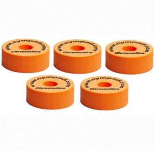 CYMPAD (シンパッド) クロマティクス オレンジ 40x15mm 5個セット