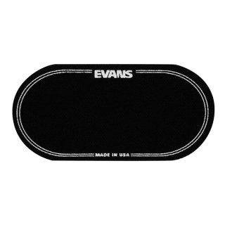EVANS(エバンス) EQバスドラムパッチ ブラックナイロン ツインペダル用 (2枚入り) EQPB2<br>【追跡可能メール便 送料無料】