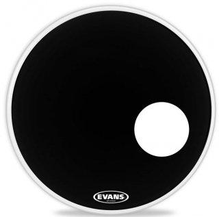 EVANS(エバンス) EQ3 レゾナント ブラック 20インチ バスドラムフロントヘッド BD20RB