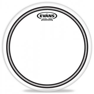 EVANS(エバンス) EC2 SST クリア 14インチ スネア/タム打面用ドラムヘッド TT14EC2S