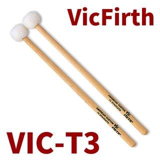 VIC FIRTH  (ヴィックファース) アメリカンカスタム・ティンパニマレット STACCATO VIC-T3  (1ペア)