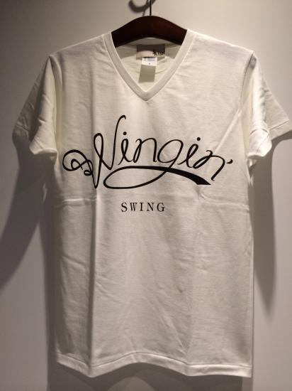 SWING SWINGINロゴTシャツ