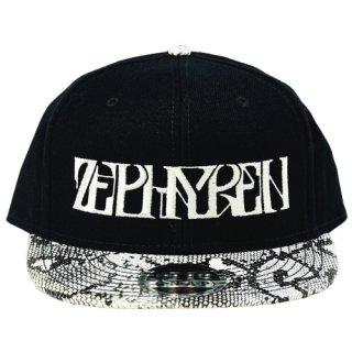 【Zephyren】 B.B CAP -VISIONARY- (WHITE SNAKE)