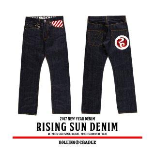 【ROLLING CRADLE】 RISING SUN DENIM