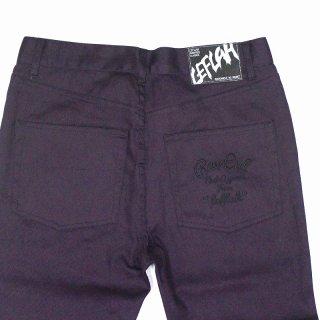 【LEFLAH】 STRETCH SKINNY PANTS (PURPLE)