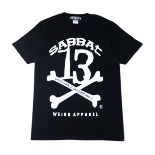 【SABBAT13】 13X-BONE T (BLACK)