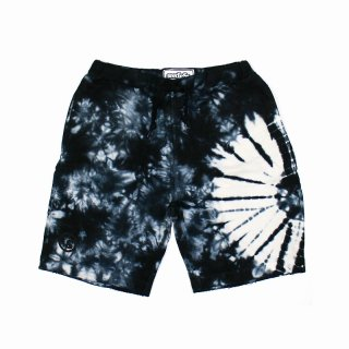 【seedleSs】 SD TIE DYE SHORTS [BLACK]