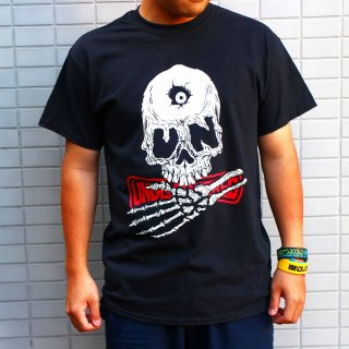 <img class='new_mark_img1' src='https://img.shop-pro.jp/img/new/icons25.gif' style='border:none;display:inline;margin:0px;padding:0px;width:auto;' />【undiscovered】UNDISKULL Tee (BLACK)