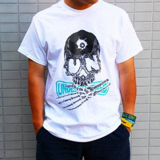 【undiscovered】UNDISKULL Tee (WHITE)
