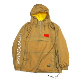 【ROLLING CRADLE】 RLCR SIGN ANORAK (Beige)