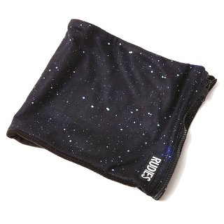【RUDIE'S】FLEECE NECK WARMER (BLACK GALAXY)