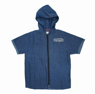 【seedleSs】sd zip up hoody shirts revised (DENIM)
