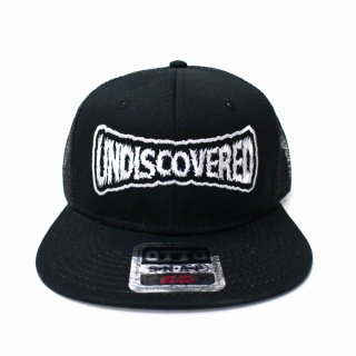 【undiscovered】MESH CAP (BLACK)