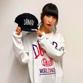 【RUDIE'S x でんぱ組.inc】DRAWING DEMPA SNAPBACKCAP (BLACK)