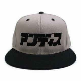 【undiscovered】アンディス CAP (GRAYxBLACK)