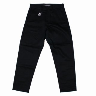 <img class='new_mark_img1' src='//img.shop-pro.jp/img/new/icons1.gif' style='border:none;display:inline;margin:0px;padding:0px;width:auto;' />【ROLLING CRADLE】TAPERED CHINO PANTS (BLACK)