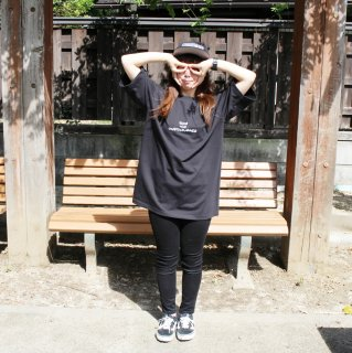 【undiscovered】UNDIS BIG Tee (BLACK)