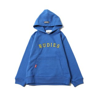【RUDIE'S (KIDS)】KIDS MIGHTY HOOD SWEAT (BLUE)