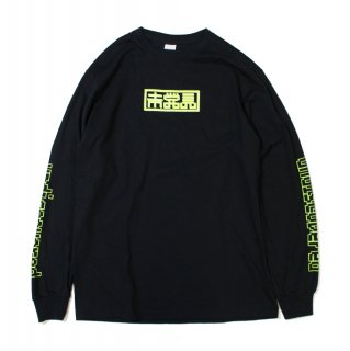 【undiscovered】未発見 L/S TEE (BLACK/YELLOW)