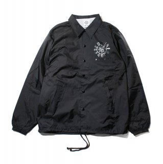 【undiscovered】ALL BLACK COACH JKT
