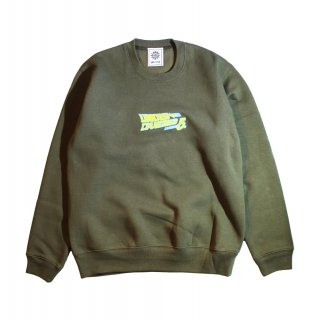 【undiscovered】UNDIS 5th Anniv. SWEAT (OLIVE)