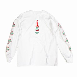 【undiscovered】TABASCO L/S TEE (WHITE)