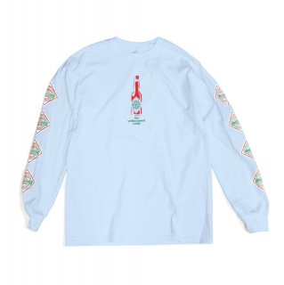 【undiscovered】TABASCO L/S TEE (LIGHT BLUE)