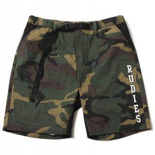 【RUDIE'S】MIGHTY MILITARY SHORTS (GREEN CAMO)