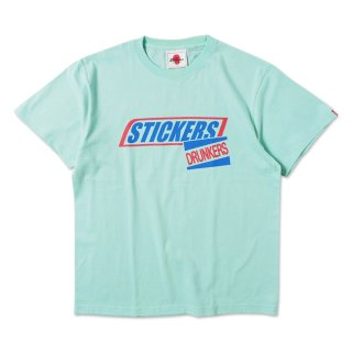 【PUNK DRUNKERS】ステッカーTEE'20 / REVIVAL (M.GREEN)