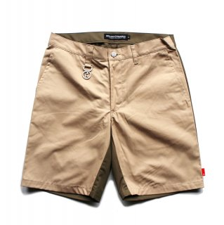 【ROLLING CRADLE】HALF and HALF SHORT PANTS (BEIGE)