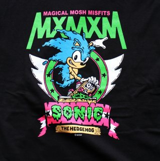 "【MxMxM】SONIC THE HEDGEHOG x MxMxM ""MAGICAL SONIC MISFITS"" TEE"
