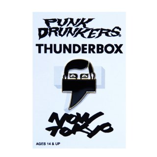 【PUNK DRUNKERS x THUNDERBOX】 NOW TOKYOピンズ