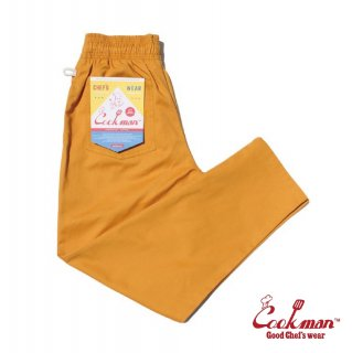 【COOKMAN】 Chef Pants 「Mustard」