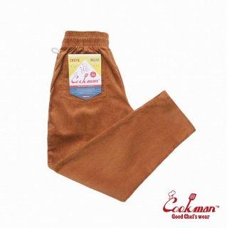 【COOKMAN】 Chef Pants 「Corduroy」 Brown