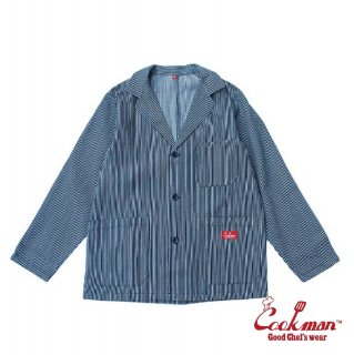 【COOKMAN】 Lab.Jacket 「Hickory」